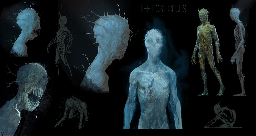 """LDR - The Tall Grass, """"Lost Souls"""" character designs by Axis Studios"""