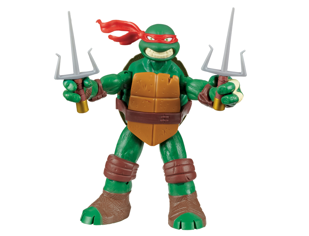New TMNT Toys Arrive in Stores | Animation Magazine Raphael Tmnt 2017 Toy