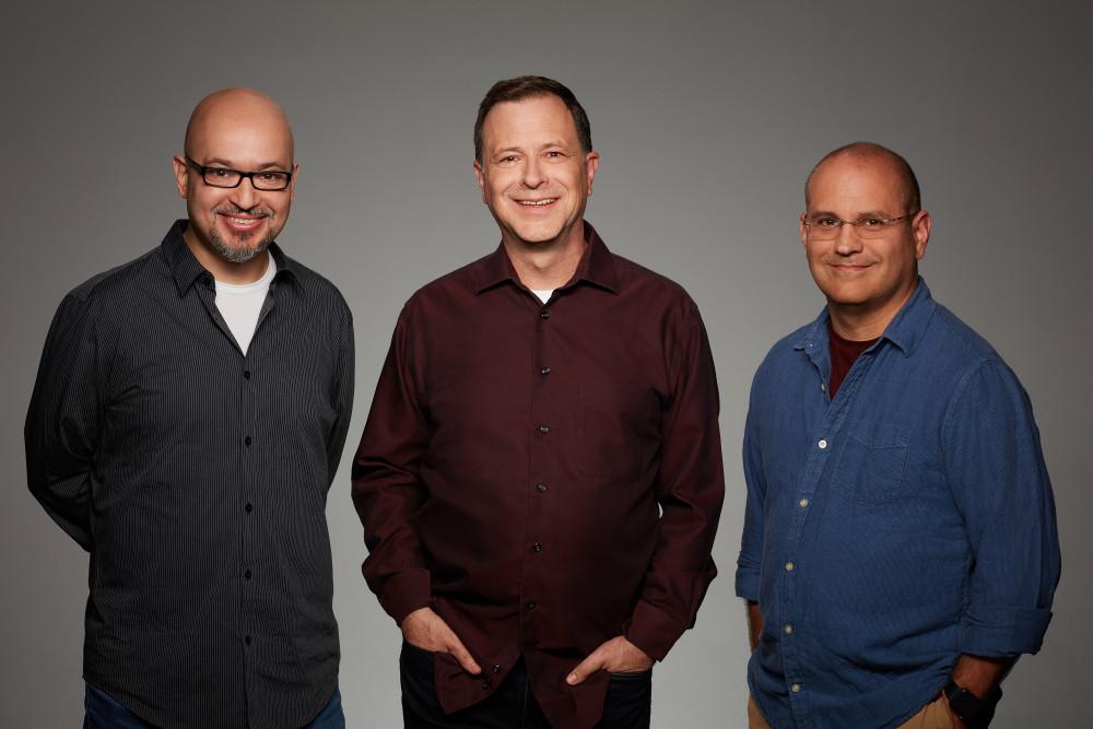 L-R: Steve Loter, Bill Motz and Bob Roth