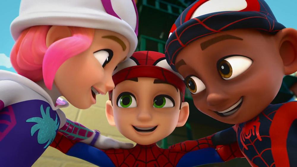 Spiderman de Marvel y sus increíbles amigos