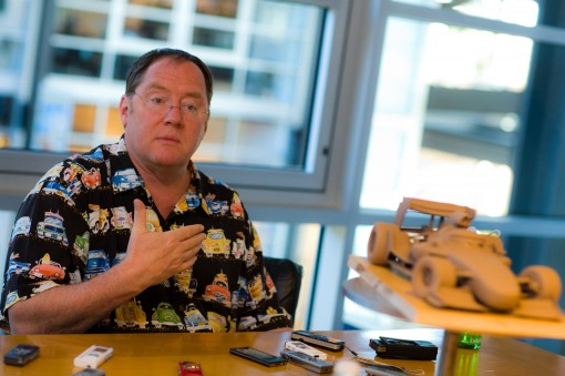 """CARS 2"" John Lasseter Ph: Brett Butterstein ©Disney/Pixar. All Rights Reserved."