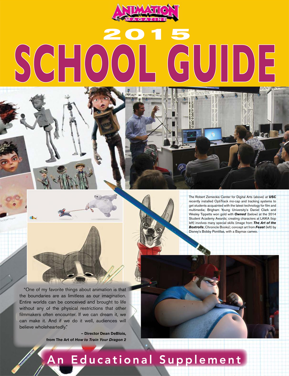 Animation Magazine – 2015 School Guide
