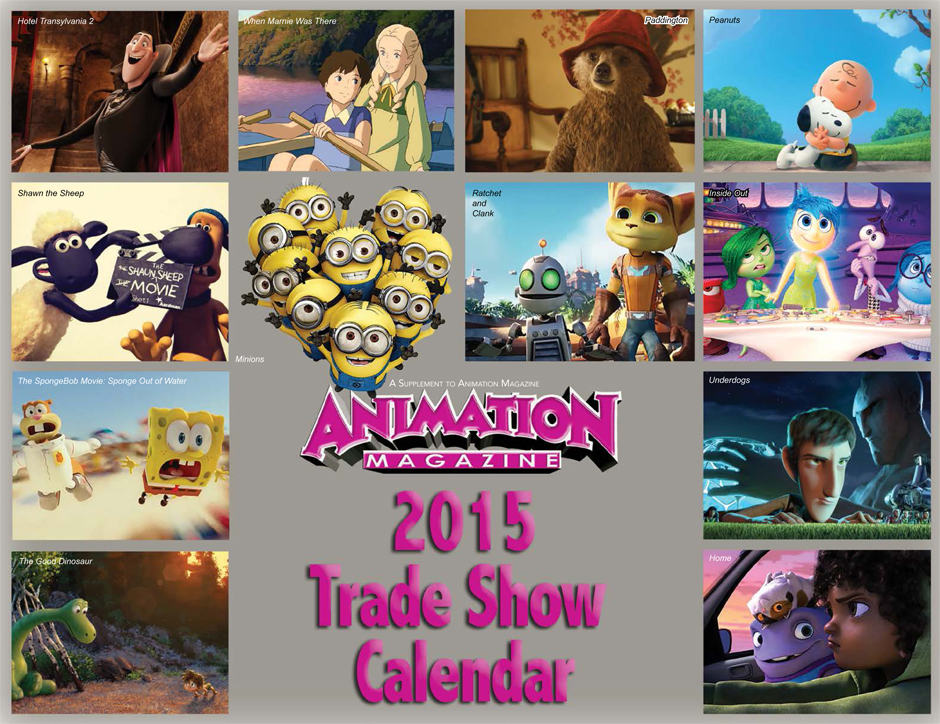 Animation Magazine - 2015 Trade Show Calendar