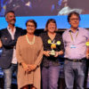 2018 Cartoon Tributes winners at the 29th Cartoon Forum in Toulouse. [courtesy of CARTOON]