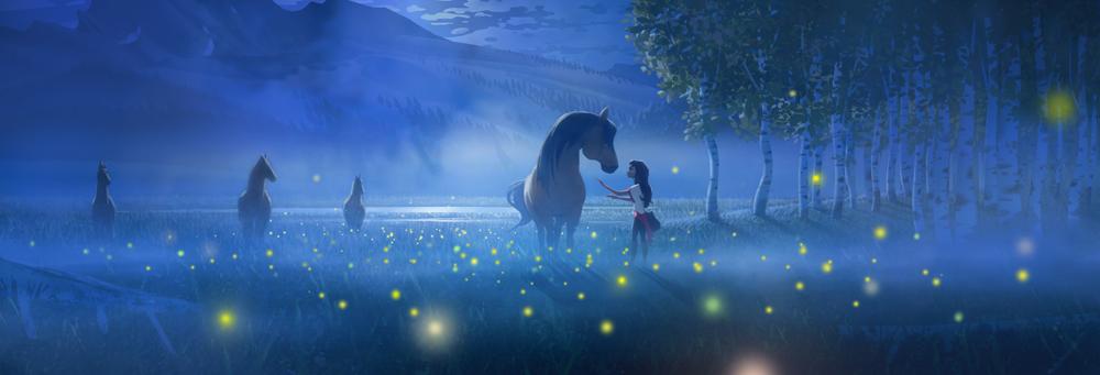Spirit Untamed production artwork (DreamWorks Animation)