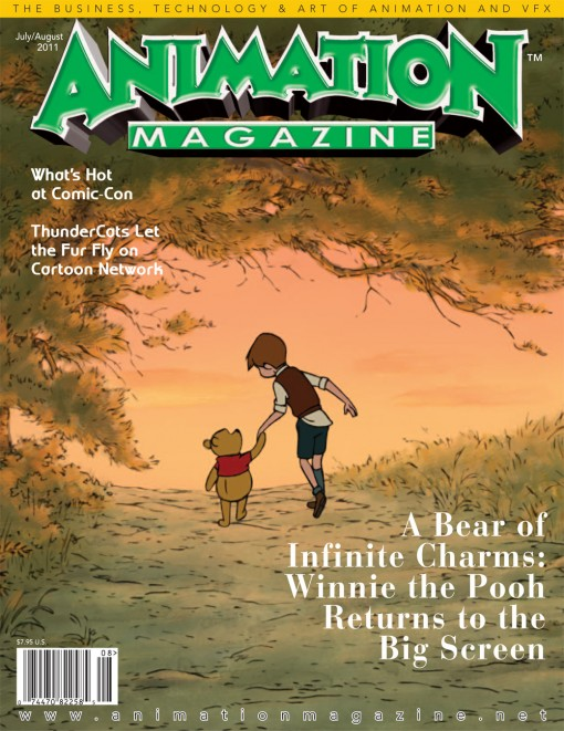 Issue #213 July/August 2011   Animation Magazine