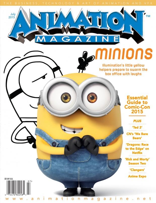 Animation Magazine July 2015 - Issue #251