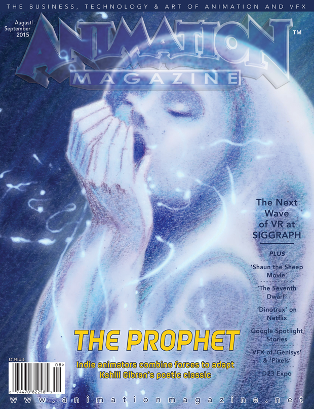 Animation Magazine August-September 2015 - Issue #252