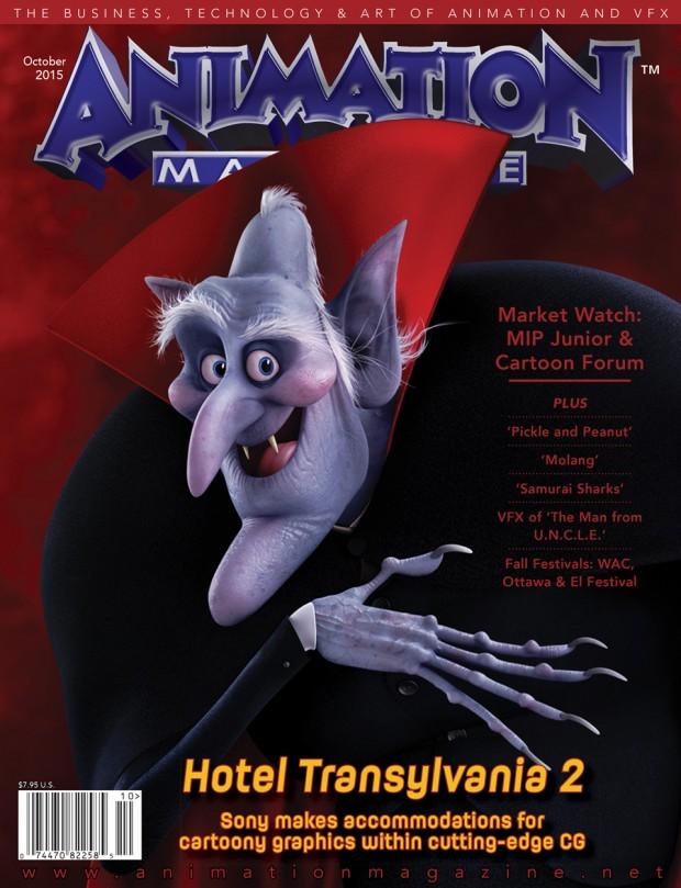 Animation Magazine October 2015 - Issue #253