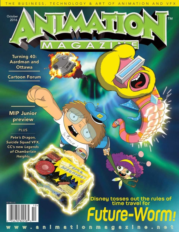 Animation Magazine issue #263 October 2016