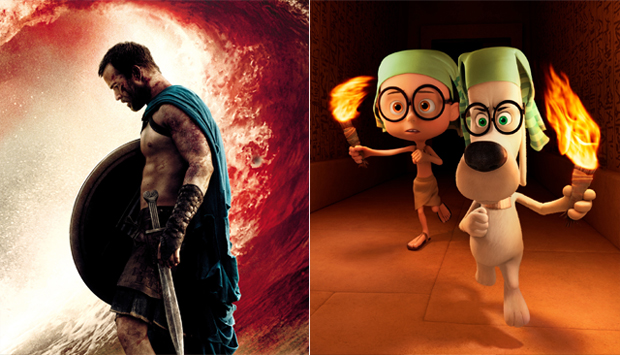300: Rise of an Empire / Mr. Peabody & Sherman