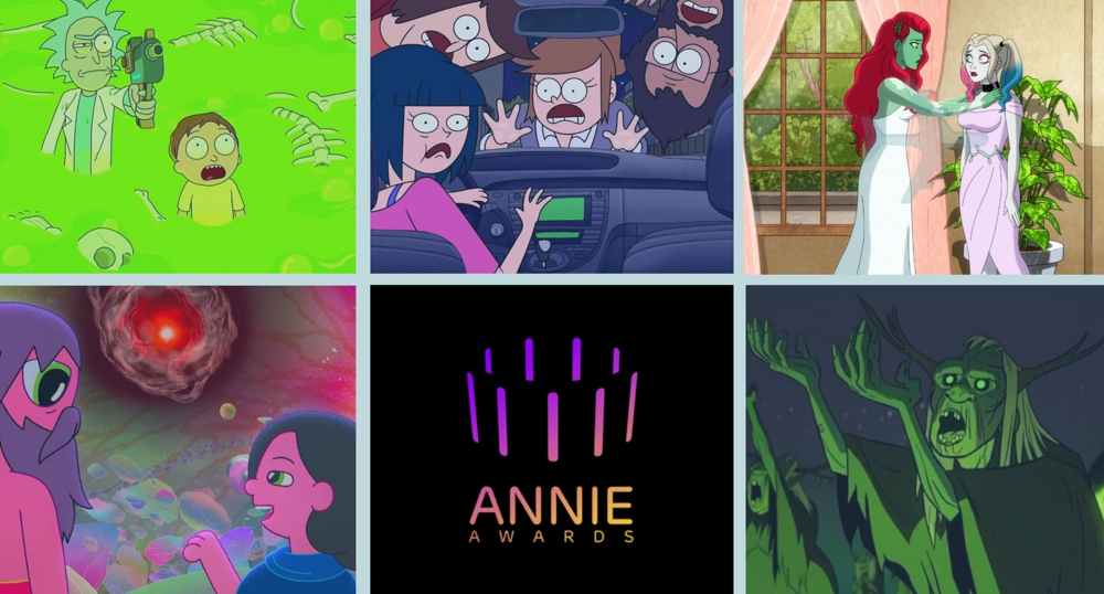 48th Annie Awards Best TV/Media: General Audience nominees.