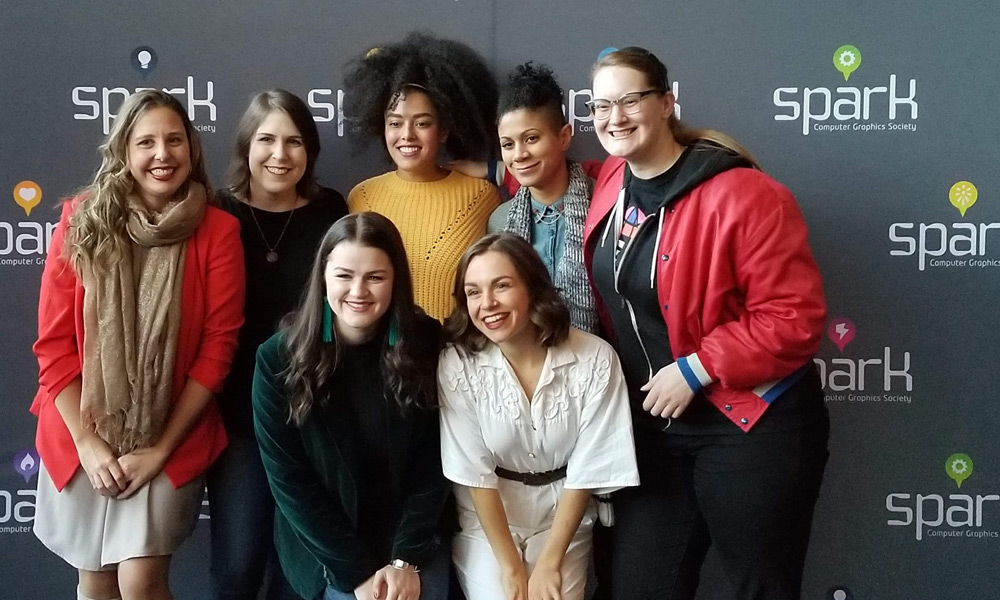 ACE participants at the 2019 Spark Animation Festival