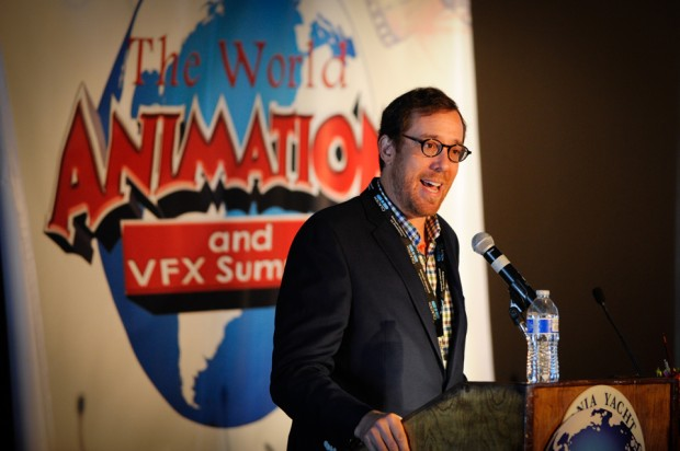 Producer and director Rob Minkoff (<em>Mr. Peabody & Sherman</em>) kicks off the first day of the third World Animation and VFX Summit with the Animation Keynote Address.