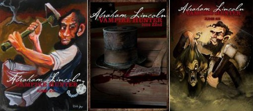 Abraham Lincoln: Vampire Hunter art