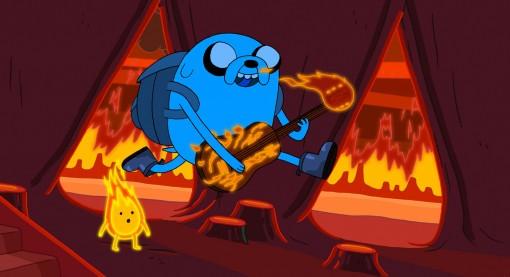 """Adventure Time's """"Incendium"""" episode"""