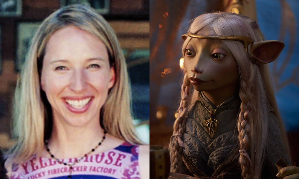 Alice Deeanean puppeteers the Gelfling hero Brea in Age of Resistance