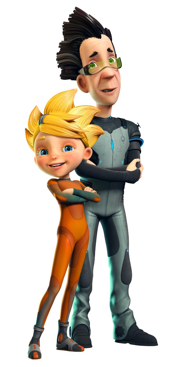 Alisa and Papa