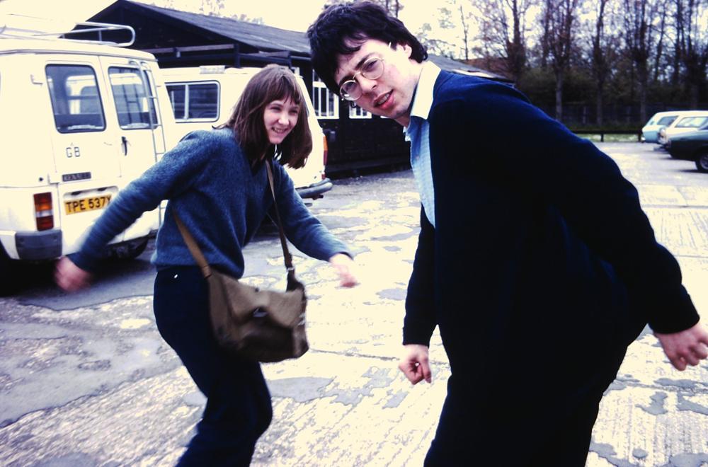 Alison Snowden & David Fine, the film school days (Photo by Nick Park)