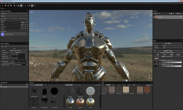 Allegorithmic Painter