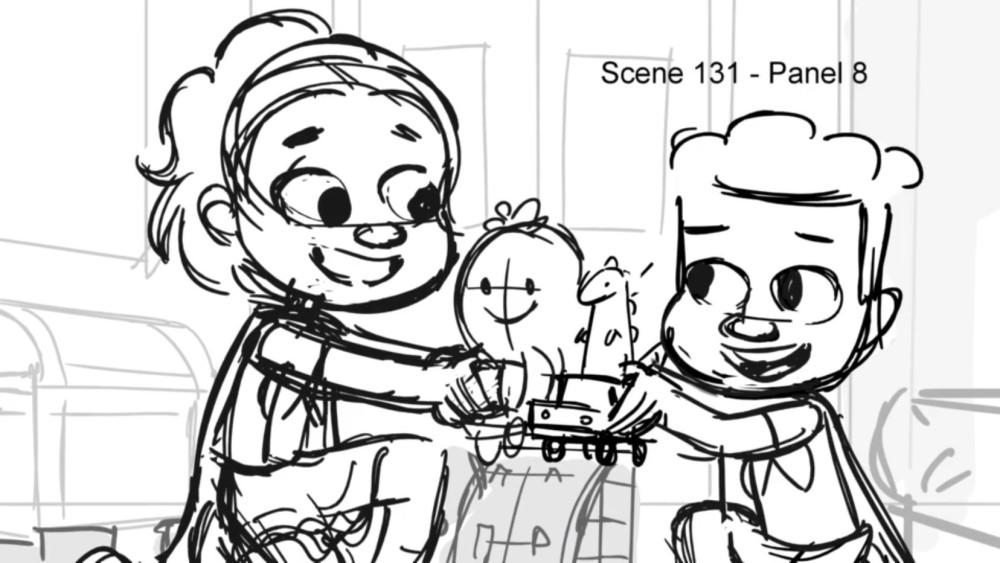 Alma's Way storyboard