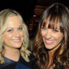 Exec producer Amy Poehler and voice co-star Rashida Jones [Photo by Bryan Bedder / Getty Images]