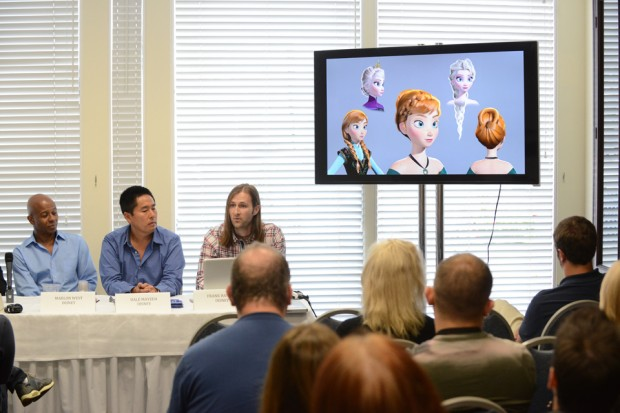 Animation Feature Film Case Study - Frozen