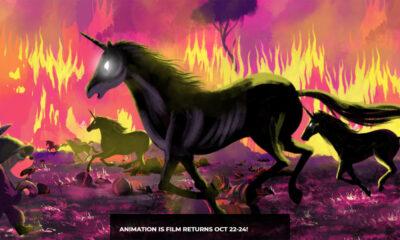 Alberto Vazquez's new feature Unicorn Wars