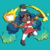 Animex 2021 mascot Hope