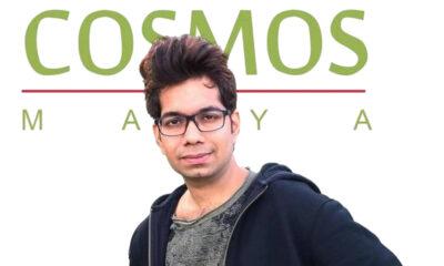 Anish Mehta, CEO of Cosmos-Maya