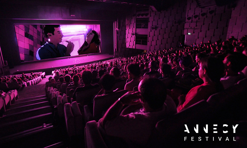 Screening of Ali Soozandeh's 'Tehran Taboo', Annecy Festival 2017. [Photo: E. Perdu/CITIA]