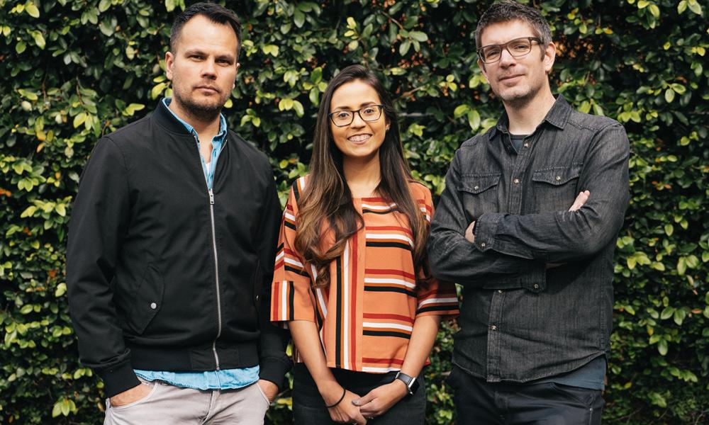 Jarik van Sluijs, Alexandra Hancock, and Lucas Christman