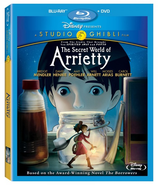 The Secret World of Arrietty DVD/Blu-ray combo pack