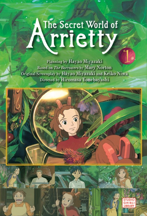 The Secret World of Arrietty Film Comic