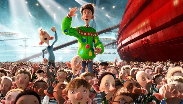 Arthur Christmas (Sony Pictures Animation/Aardman Animations)