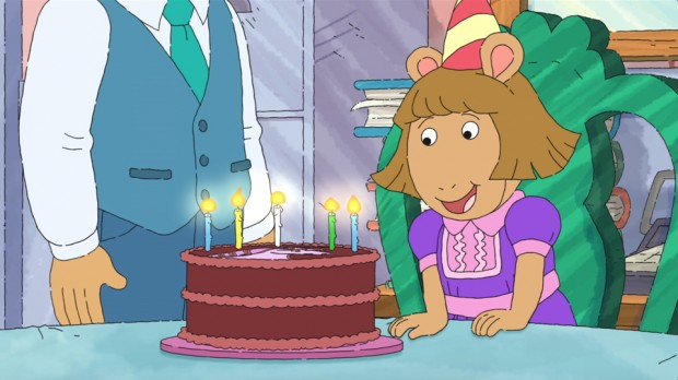 D W Finally Turns 5 In New Arthur Special Animation