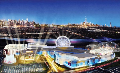 Artist rendering of American Dream at Meadowlands