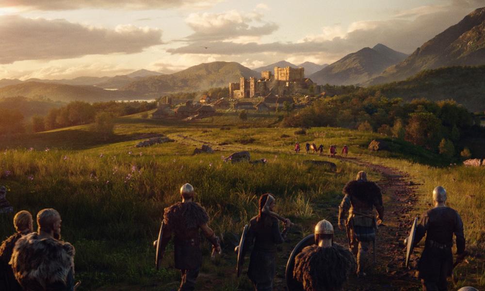 Assassin's Creed Valhalla © 2020 Ubisoft (image courtesy Goodbye Kansas & DDB Paris)