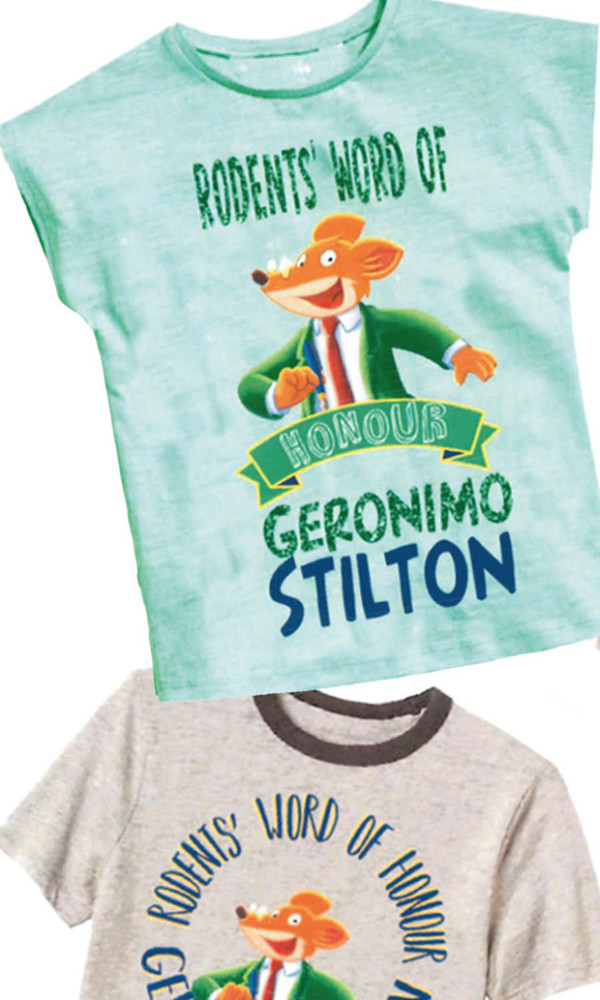 BIOWORLD Geronimo Stilton apparel