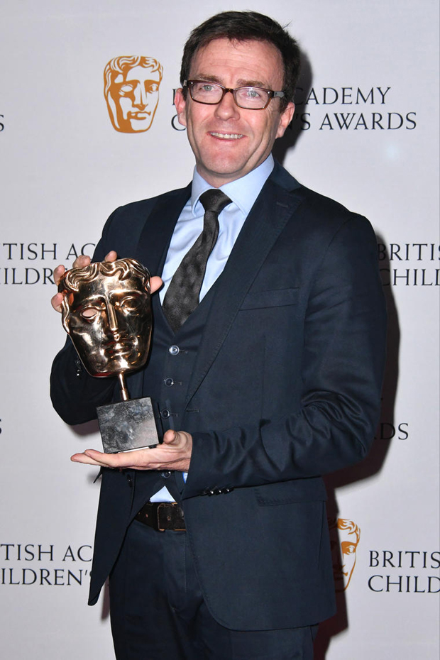 Disney's head of EMEA distribution Tony Chambers accepted the Feature Film Award for Zootropolis.