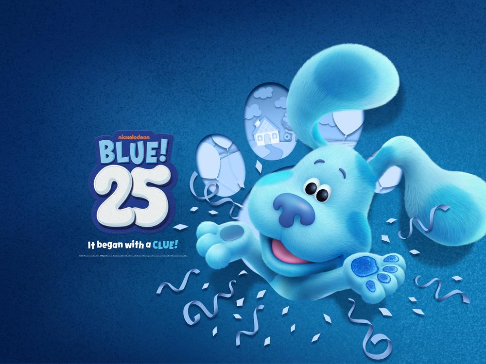 Blue's Clues 25th anniversary