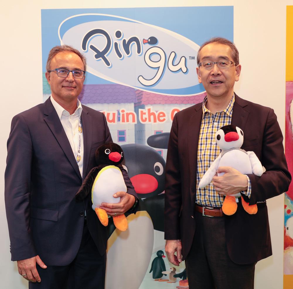Mr. Sergi Reitg and Mr Hitoshi Hasegawa