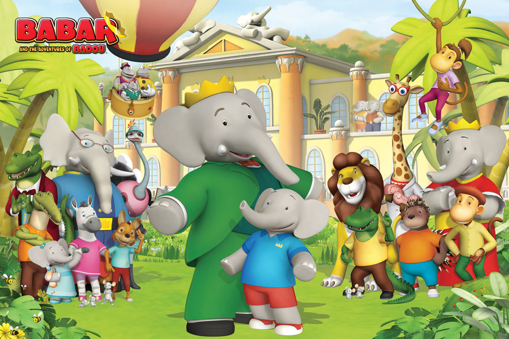 A Royal Celebration Babar Turns 80 Animation Magazine
