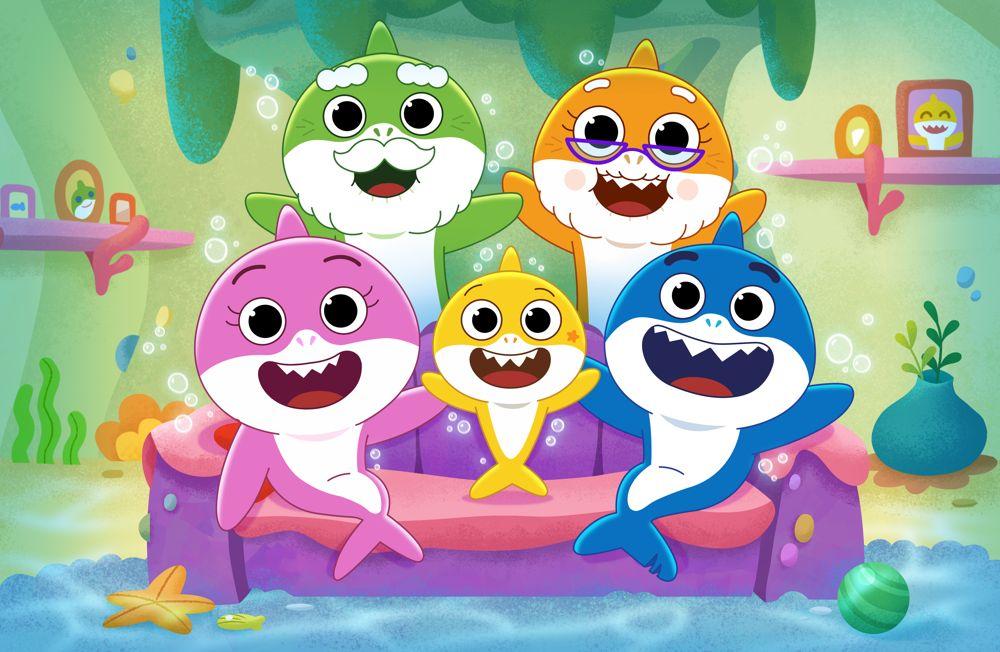 ¡El gran espectáculo de Baby Shark!