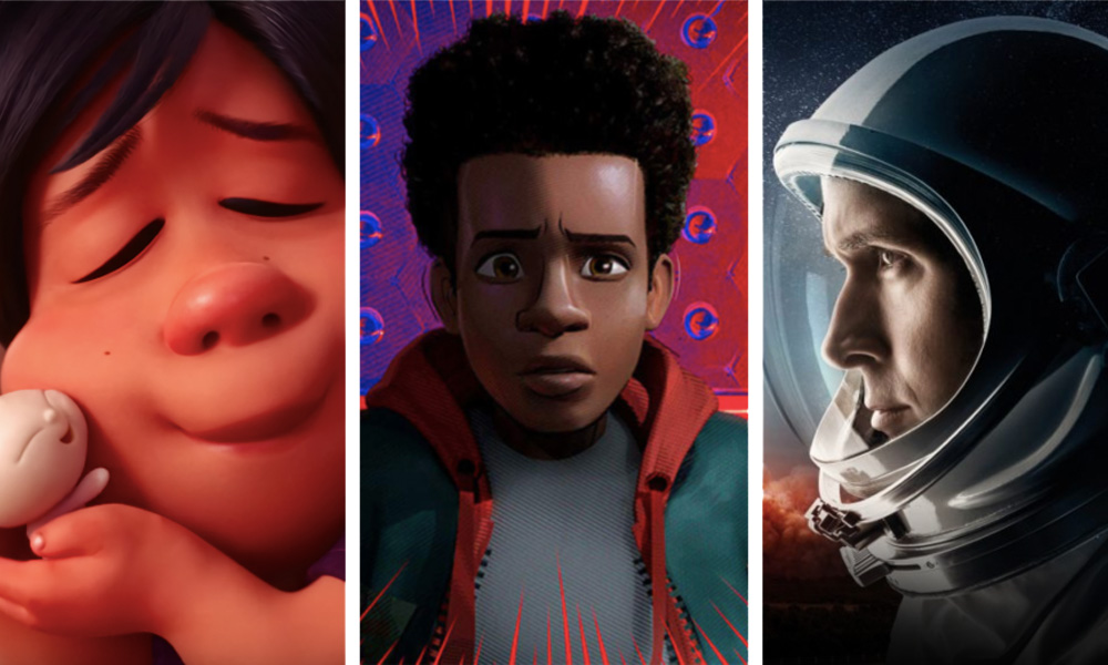 Bao / Spider-Man: Into the Spider-Verse / First Man