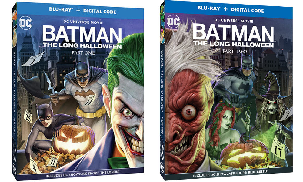 Batman: The Long Halloween Parts 1 & 2
