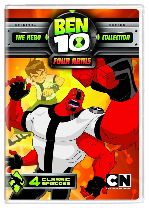 Ben 10: Four Arms DVD