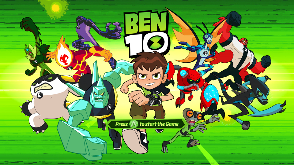 Ben 10 From Cn Ad Outright Games Launches