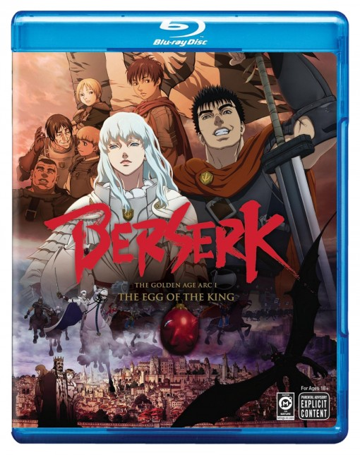 Berserk: The Golden Age Arc I - The Egg of the King Blu-ray