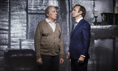 Bob Odenkirk as Jimmy and Michael McKean as Chuck in Better Call Saul (AMC)